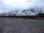 AMTK 90 & AMTK 144 lead the Amtrak Train #48 EB