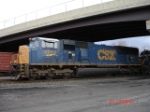 CSX 4745 heads WB with the CSX Q293