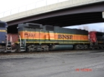 BNSF 331 is a very nice (and somewhat rare) sighting and is heading WB on the CSX Q293