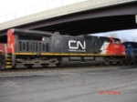 CN 2646 makes a nice appearance WB on the CSX Q293