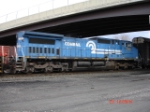 And what would this lashup be w/out a C40-8W in Conrail Blue heading WB on the CSX Q293
