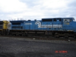 CSX 7316 still in Conrail Blue EB
