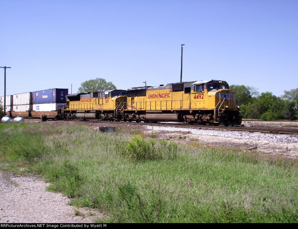 UP 4492 and 8119