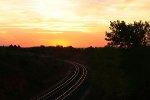 Sunrise at west Quinlan bridge