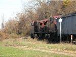 CP 643 empty ethanol train