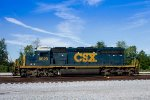 CSX 8029 waits in the yard