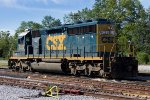 CSX 8029 in the yard