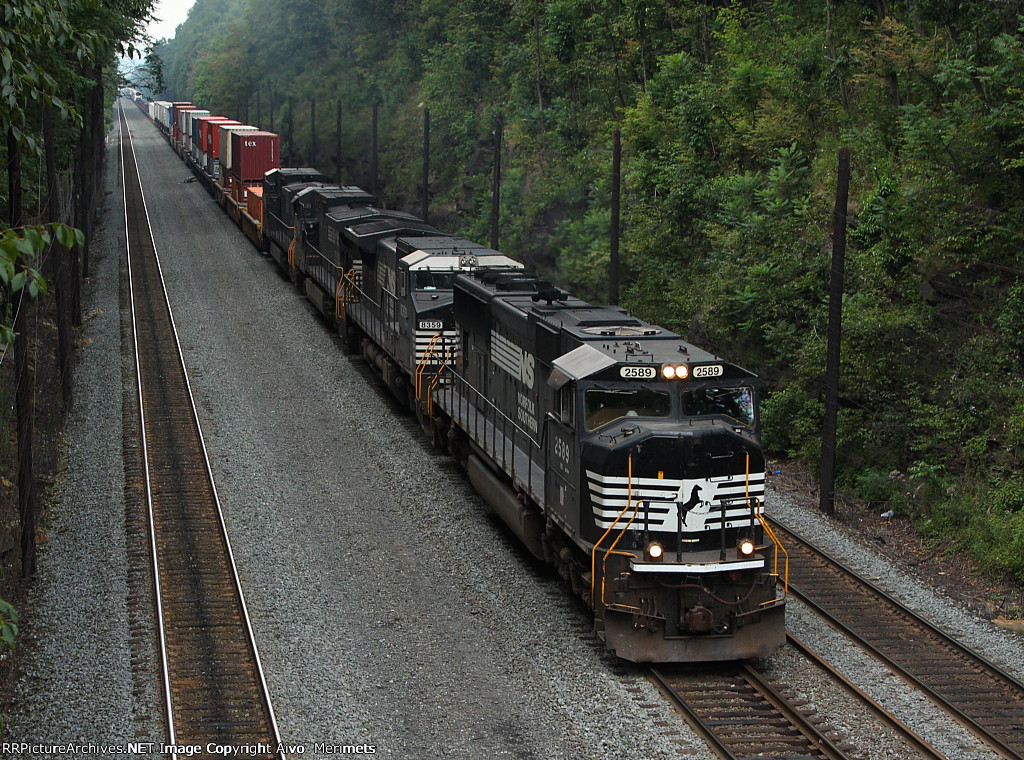 NS 22W at Mile 255 Pittsburgh Line