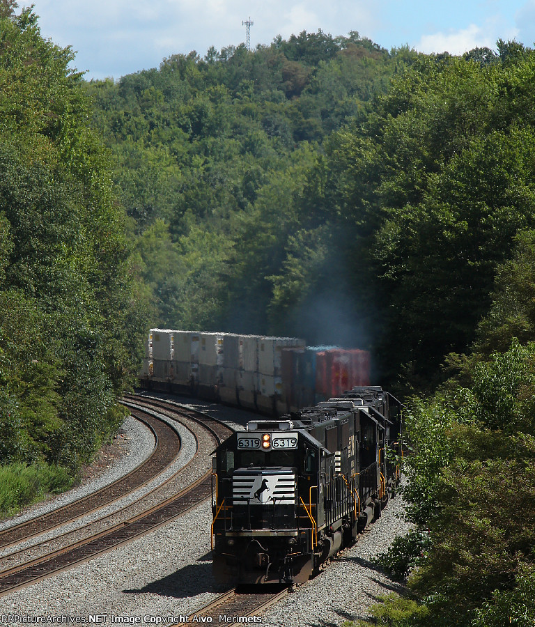 NS 20T at Mile 255 Pittsburgh Line