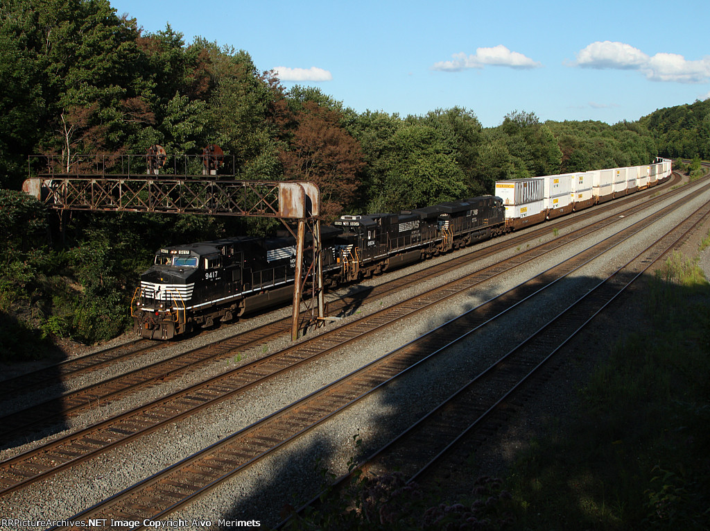 NS 21M at Mile 249 Pittsburgh Line