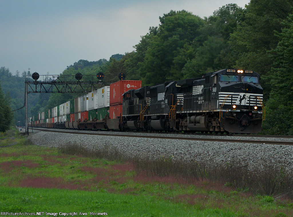 NS 20T at Mile 254 Pittsburgh Line