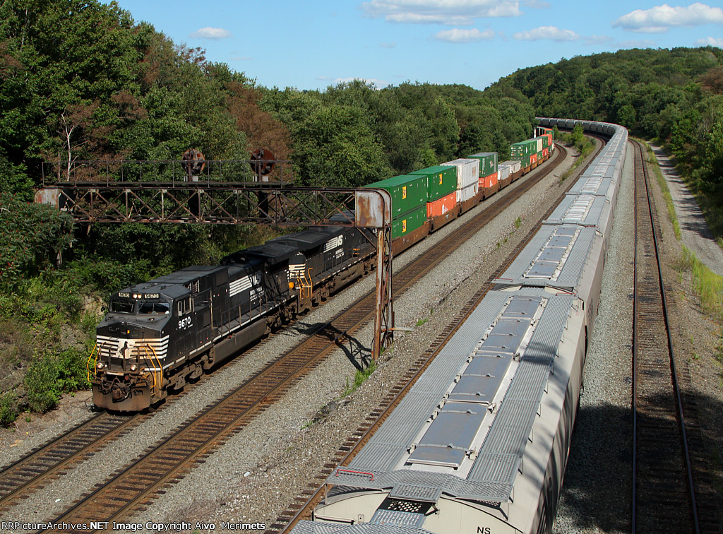 NS 23M at Mile 249 Pittsburgh Line