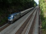 Amtrak's Pennsylvania at Mile 255 Pittsburgh Line