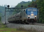 Amtrak 42 at Mile 254 Pittsburgh Line