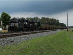 NS 8086 west at Mile 251 Pittsburgh Line