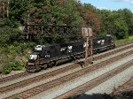 NS 6303 at Mile 249 Pittsburgh line