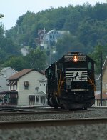 NS 6306 at Mile 254 Pittsburgh line
