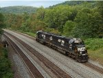 NS 6306 at Mile 255 Pittsburgh Line