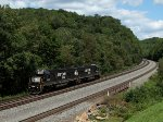 NS 6328 at Mile 255 Pittsburgh Line