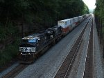 A massive NS 20T at Mile 255 Pittsburgh Line
