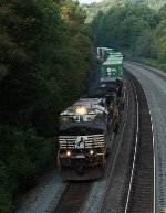 NS 23M at Mile 255 Pittsburgh Line