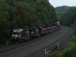 NS 23Z at Mile 255 Pittsburgh Line