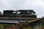 NS 2722 working asphalt plant in Danville, VA
