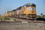 Eastbound intermodal nears diamond