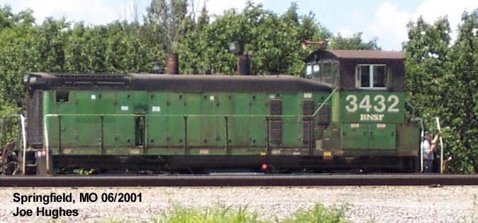 BNSF 3432