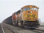 BNSF SD70MAC 9877