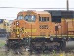 BNSF SD70MAC 8889