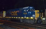 CSX GP40-2 6226 is the second unit on C746-18