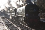34067 Tangmere at Welwyn North