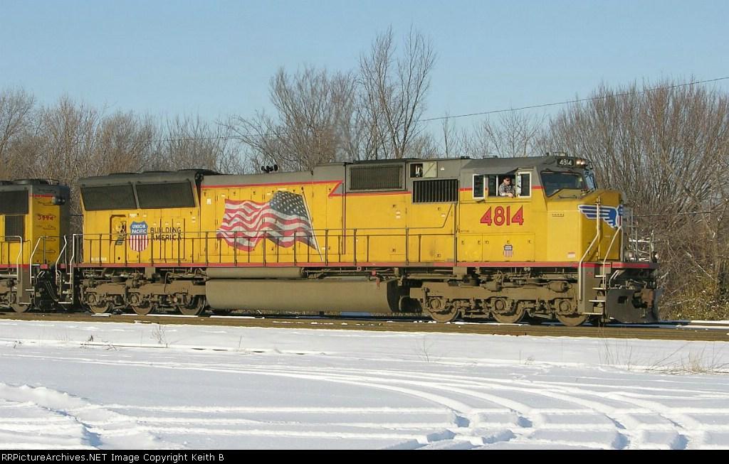 UP 4814