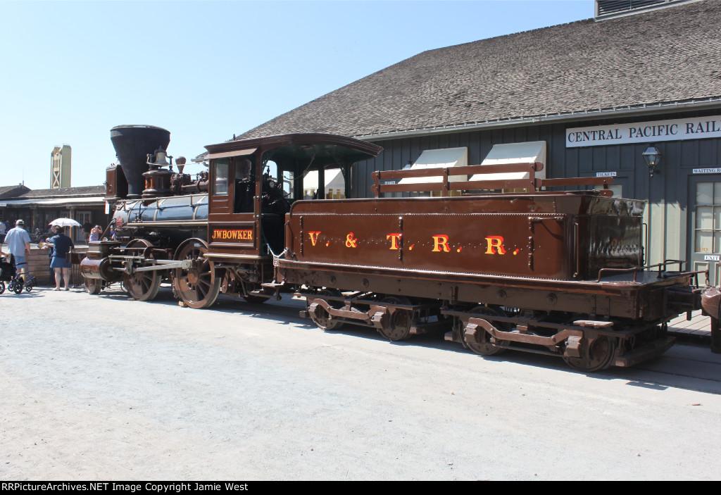 "Virginia & Truckee #21 ""J.W. Bowker"""