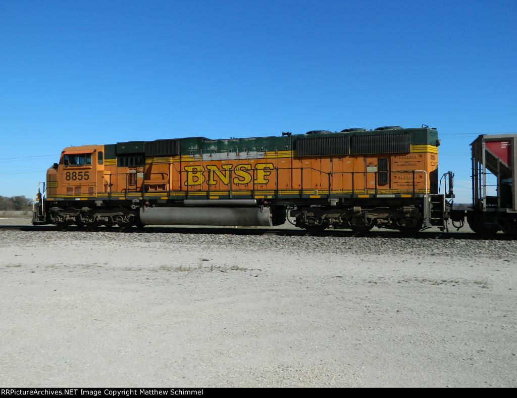 BNSF 8855 - DPU