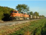 BNSF 5781 Leading The Way