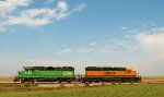 BNSF 1667 and 2290