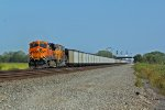 BNSF 6096 takes charge of a WB coal train.