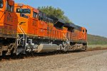 BNSF 9052 is 2nd out on this EB that isn't very old.