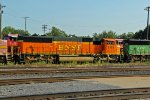 BNSF 633 and 8179 and 8176 sit silent.