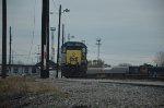 CSX GP39-2 loco at yard