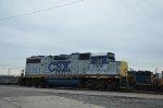 CSX GP38-2 at yard