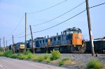 CSX Locos at yard