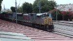 KCS SD70 leading a grain train