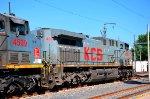 KCS AC4400 locomotive