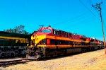 KCS ES44AC Locomotive