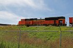 BNSF 9259 runs dpu on this coal load.