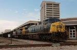 CSX loaded Coal Train