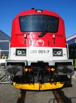 381001 - New high performance locomotive from Eastern Europe